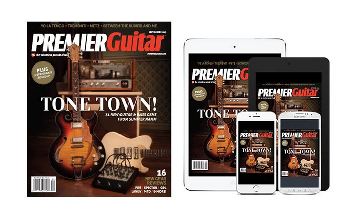 Premier Guitar Magazine: One- or Two-Year Subscription from Premier Guitar Magazine (Up to 52% Off)