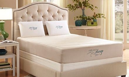 groupon daily deal - Memory-Foam Mattresses with Shipping Included from Nature's Sleep (Up to 70% Off). Four Options Available.