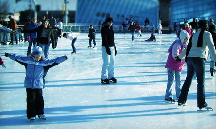 Brenton Skating Plaza - East Village: Ice Skating with Skate Rentals for Two or Skate Classes on Mondays or Saturdays at Brenton Skating Plaza (Up to 53% Off)