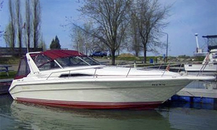 Captain Mike Fink's Marina and AAA Party Cove Boat & PWC Rentals - Multiple Locations: $499 for a Captained Boat Rental from Captain Mike Fink's Marina and AAA Party Cove Boat & PWC Rentals ($1,000 Value)