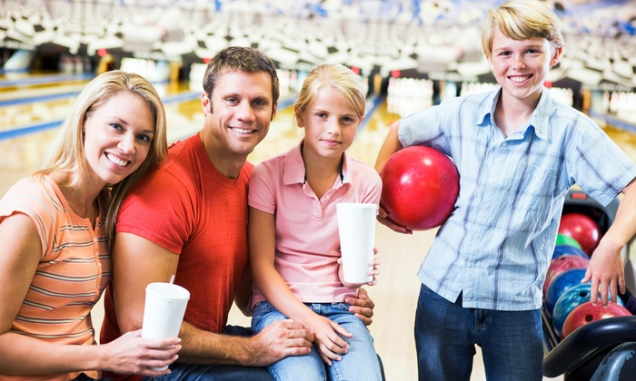 Stonehedge Family Fun Center - North Hill: $35 for Bowling for Up to Six with Shoe Rental and Pizza at Stonehedge Family Fun Center (Up to $76 Value)