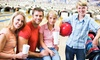 Up to 54% Off Bowling with Shoe Rental and Pizza