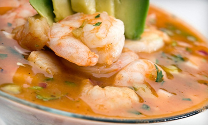 Patron Mexican Grill - Clinton: $45 for a Three-Course Prix Fixe Meal for Two at Patron Mexican Grill (Up to $102Value)