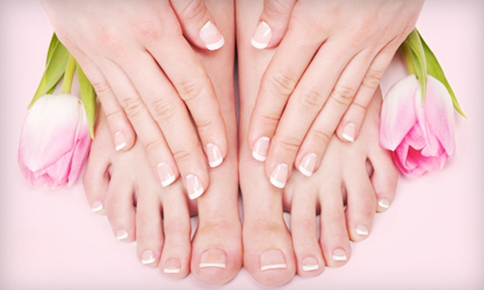 Metro Salons - Multiple Locations: Manicure with Regular or Spa Pedicure, or Full-Set Gel Manicure at Metro Salon (Up to 65% Off)