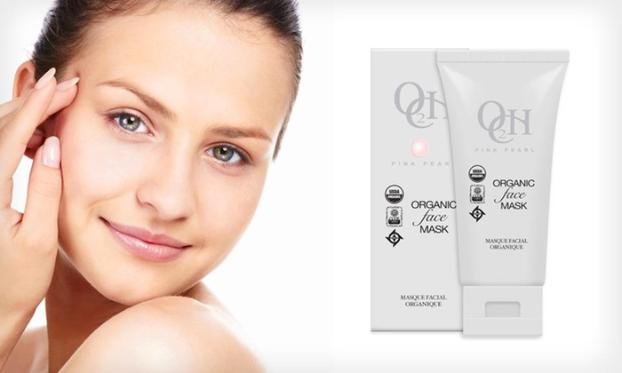 O2CH Organic Pink Pearl Face Mask: $14.99 for a 6-Ounce Package of O2CH Organic Pink Pearl Face Mask ($89.99 List Price)