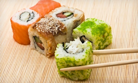 Sushi and Japanese Cuisine at Tokyo Japanese Seafood & Steakhouse (Half Off). Two Options Available.