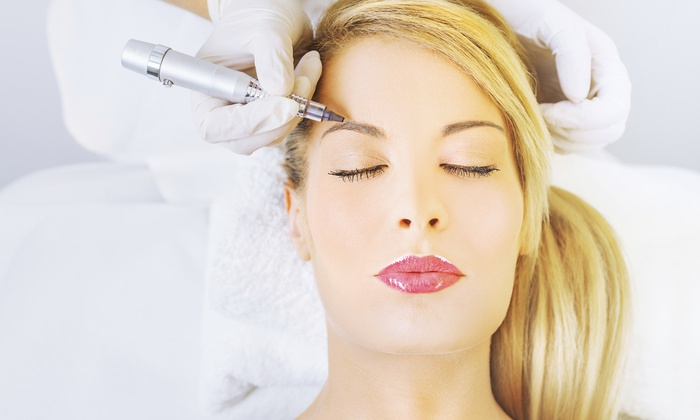 In a Wink Beautique Inc. - Port Coquitlam: Semi-Permanent Makeup for Eyelids, Eyebrows, or Lips (50% Off)