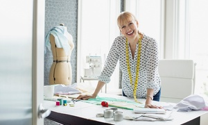 London Textiles Studio: One-Day Dressmaking Class From £49.50 at London Textiles Studios (Up to 68% Off)