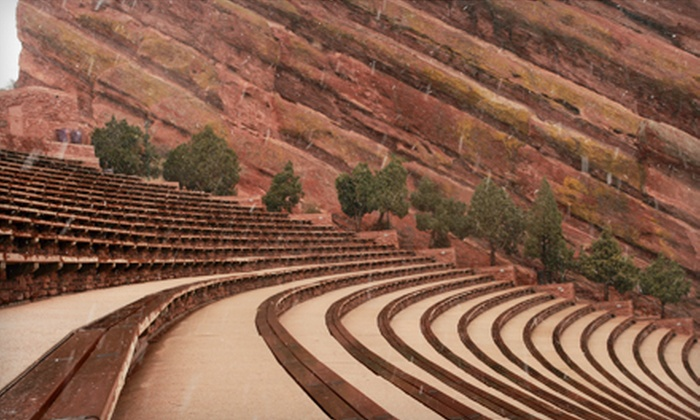 Get Strong Denver - Red Rocks Ampitheater: Five or 10 Red Rocks Boot Camp Sessions or a Season Pass with Get Strong Denver (Up to 77% Off)