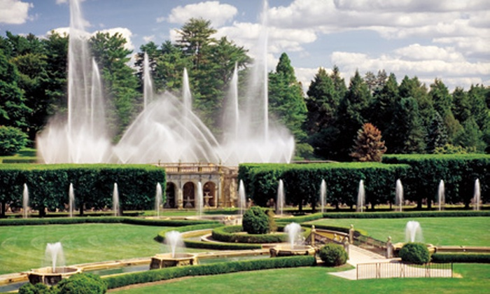 Longwood gardens longwood gardens groupon for Longwood gardens discount tickets