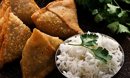 $35 for an Indian and Asian Fusion Dinner for Two at Chatni Indian Restaurant (Up to $64.70 Value)