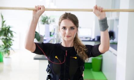 3 oder 5 EMS-Trainingseinheiten mit Körperanalyse, Sportbekleidung und Getränken im Slim-Gym Club (bis zu 73% sparen*)