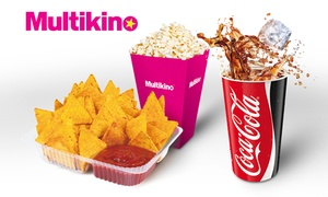 Multikino: Rozsmakuj się w kinie: od 14,90 zł za napój z popcornem lub nachosami w kinach sieci Multikino (do -42%)