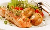 Stratosphere Restaurant & Lounge - Stratosphere Restaurant & Lounge: Gastropub Meal for Two or Four at Stratosphere Gastrolounge & Winebar (Up to 44% Off)