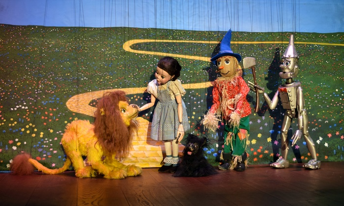 """""""The Wizard of Oz"""" - Geppetto's Theater: Le Theatre de Marionette Presents: """"The Wizard of Oz"""" on September 12–November 15"""