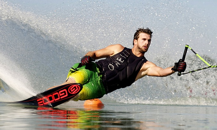 Florida Ski School - Lake Butler: Waterskiing or Wakeboarding Lesson for One or Two at Florida Ski School (Up to 59% Off)
