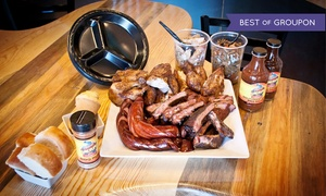Can't Stop Smokin' BBQ: $32 for a Barbecue Picnic with Meat, Sides, and Dessert at Can't Stop Smokin' BBQ (Up to $54.94 Off)