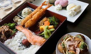 Obento-Ya: Japanese Bento-Box Meal with Dessert and Sake Flight for Two or Four at Obento-Ya (30% Off)