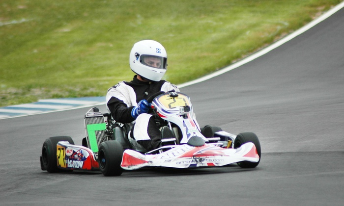 TS Racing Atlanta - Dawsonville: One, Two, or Four Tickets to See a Kart Race at TS Racing Atlanta (Up to 50% Off)