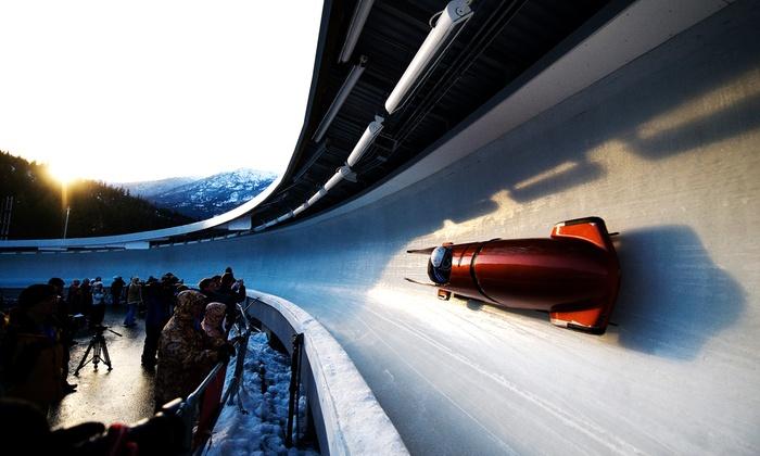 Whistler Sliding Centre - Whistler Sliding Centre: Bobsleigh or Skeleton Ride for One at Whistler Sliding Centre