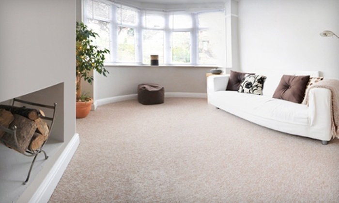 Titans Furnace Cleaning - Edmonton: $45 for Carpet Cleaning of Two Rooms and One Hallway from Titans Furnace Cleaning ($99.99 Value)