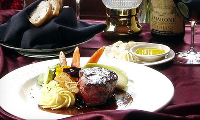 Briarhurst Manor Restaurant - Manitou Springs: Five-Course Upscale Dinner for Two or Four at Briarhurst Manor Restaurant (Half Off)