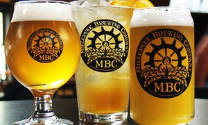 Up to 42% Off Food & Beer for Two at Millcreek Brewing Company at Millcreek Brewing Company, plus 6.0% Cash Back from Ebates.