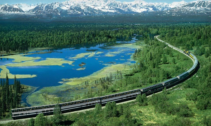 Princess Rail Tours - McKinley Park: $599 for a Two-Night Lodge Stay with Rail Transportation from Anchorage from Princess Rail Tours (Up to $1,198 Value)