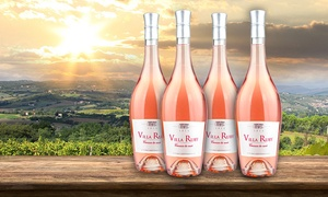 62% Off Four Bottles of Rosé at Barclays Wine, plus 6.0% Cash Back from Ebates.