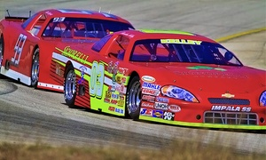 The KVET 250 Stock Car Race or Budweiser Classic 250: Stock-Car Race for One or Two at Central Texas Speedway on July 18 or August 1 (Up to Half Off)