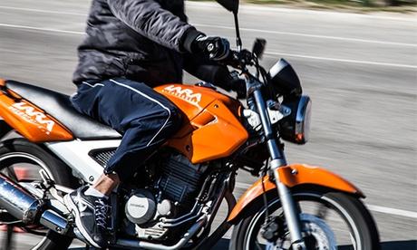 Curso para obtener el carné de moto AM, A1 o A2 con 5 o 7 prácticas desde 44 € en centros de la Autoescuela Lara Oferta en Groupon