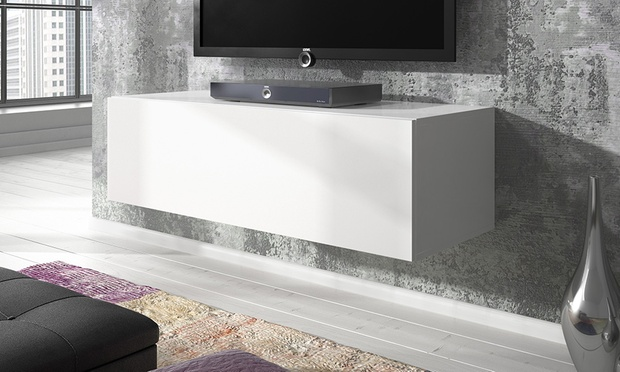 Rocco Floating Media Cabinet Groupon