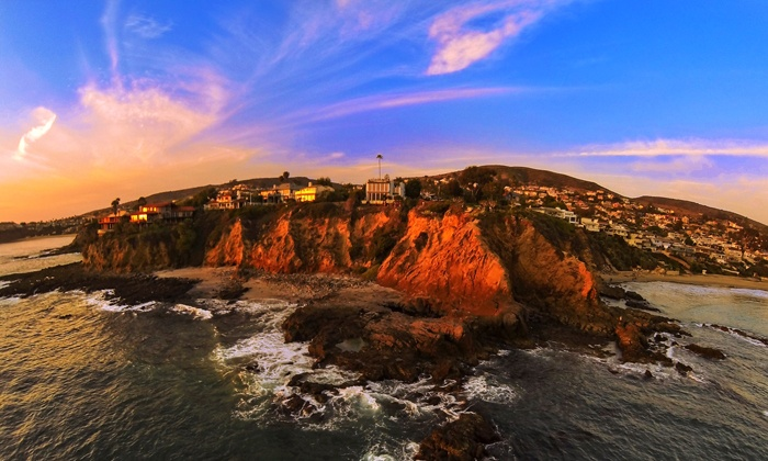 Drone House Media - Orange County: 10 Aerial Photos or 10 Aerial Photos with Video from Drone House Media (Up to 58% Off)