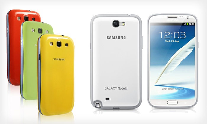 Samsung Galaxy Note II Case or S III Cover: $9.99 for a Samsung Galaxy Note II Case or S III Flip Cover (Up to $39.99 List Price). Multiple Colors. Free Returns.