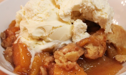 Pies, Cobblers, and Cinnamon Rolls at The Peach Cobbler Factory-Nashville (45% Off)