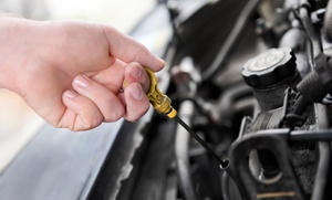Toyota Direct: Oil Change with Option of Tire Rotation, or a A/C Inspection with Freon at Toyota Direct (Up to 71% Off)