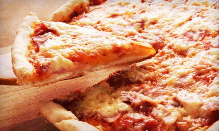 Mr. Gatti's Pizza - Eldorado: $12 for Three Medium One-Topping Pizzas at Mr. Gatti's Pizza ($26.97 Value)
