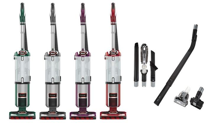 Certified Refurbished Shark DuoClean Ultra Powerful Slim Upright Vacuum Gray