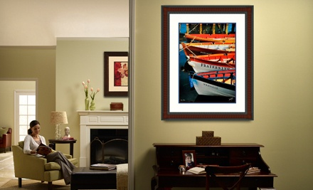 Custom Framing at Fast Frame Charlottesville (61% Off). Two Options Available.
