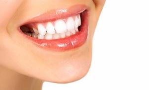 Nusblatt Dental: Dental Exams, X-ray, and Cleaning, or a Lumibrite Teeth-Bleaching Kit at Nusblatt Dental (Up to 83% Off)