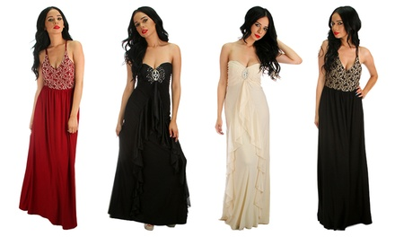 Miss Morena Royal Engagement Maxi Dresses