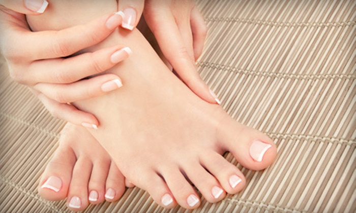 """As """"U"""" Wish Nail Spa - As U Wish Nail Spa: Spa Manicure and Milk Me Away Pedicure or $25 for $50 Worth of Waxing Services at As """"U"""" Wish Nail Spa"""