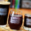 Up to 53% Off Custom Engraved Glasses from Glass with a Twist
