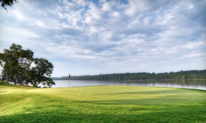 Mississippi Dunes Golf Links - Cottage Grove: Golf Outing for Two or Four with Cart, Lunch, and Hats at Mississippi Dunes Golf Links in Cottage Grove (Up to 51% Off)