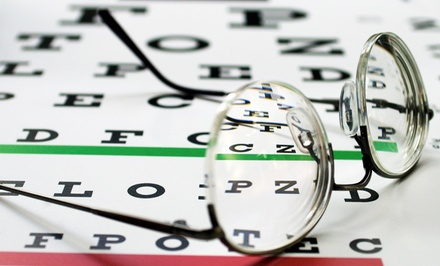$65 for an Eye Exam and $175 Toward Glasses at Parmer Eye Care ($389 Value)