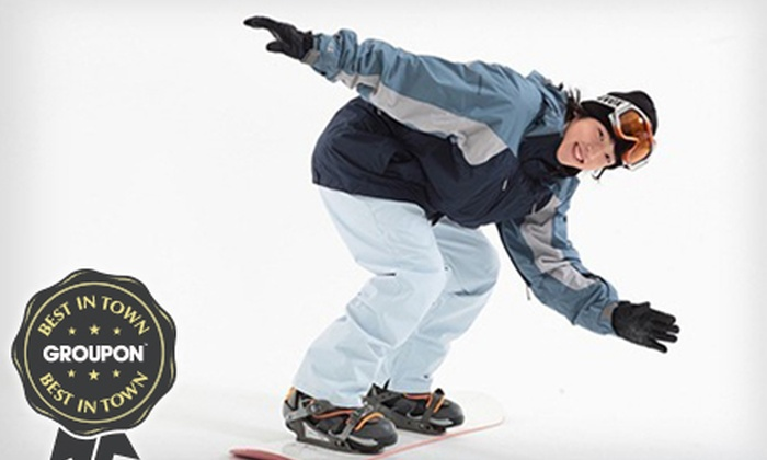 Chatham Ski & Snowboard Centre - Gillingham: One (£14) or Three (£32) Ski or Snowboarding Lessons at Chatham Ski Slope and Snowboard Centre (Up to 47% Off)