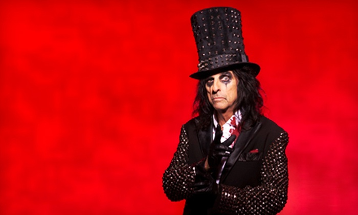 """""""Alice Cooper & Marilyn Manson: Masters of Madness Tour"""" - Mesa Del Sol Innovation Park: Alice Cooper & Marilyn Manson: Masters of Madness Tour at Isleta Amphitheater on Saturday, June 1 (Up to $57.50 Value)"""