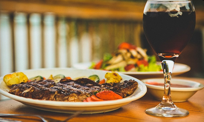 The Waterfront Bar & Grill - Marysville: $15 for $30 Worth of Steak, Pasta, and Wings at The Waterfront Bar & Grill