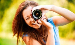 Studio 2.8: Four-Hour In-Person Digital-Photography Class or Online Course from Studio 2.8 (Up to 61% Off)