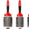 Barbar Ionic-Ceramic Round Brush in Red